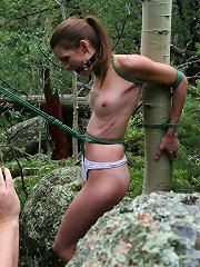 Bound to the Tree  Charlotte Brooke Presents Charlotte ..